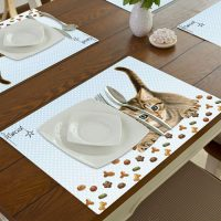 Franciens Katten Set van 2 placemats