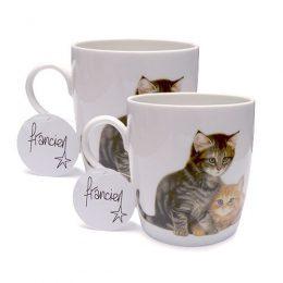 Set van 2 mokken kittens-0