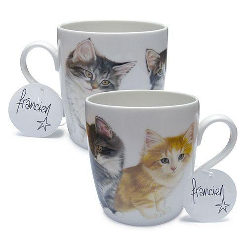 Set van 2 mokken Four kittens-0