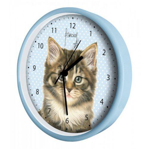 Wandklok boskat-kitten-284