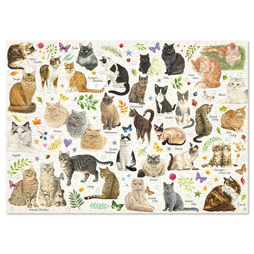 Puzzel Verschillende kattenrassen-291