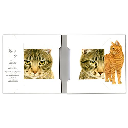 Cats Wallet Greeting Cards-306