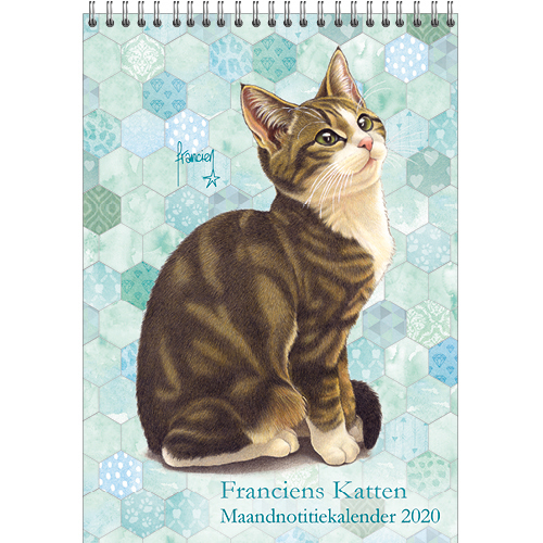 Euro 2020 Nice Calendrier.Franciens Cats Month Note Calendar Lotje 2020