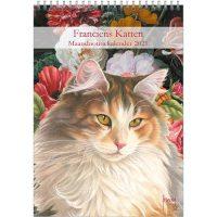 Franciens Katten maandnotitiekalender NOORSE BOSKAT 2021