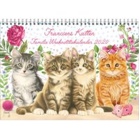 Franciens Cats Family Week Note Calendar CATS 2020