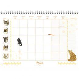 Franciens Katten familieweeknotitiekalender  2021