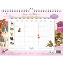 Franciens Katten familieweeknotitiekalender  2022