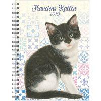 Bureau-agenda 'Kitten' (harde kaft) 2019