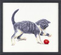 Franciens Katten borduurpakket 50% korting!