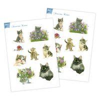 Franciens Katten Papierset – Liefde