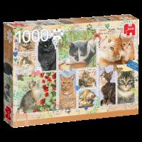 Franciens Katten puzzel ZEGELS