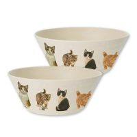 Franciens Cats set of 2 sauts (bamboo)