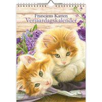 Franciens Katten verjaardagskalender BLOEMEN KITTENS