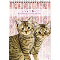 Franciens Katten weeknotitiekalender KITTENS 2020 *50% korting*