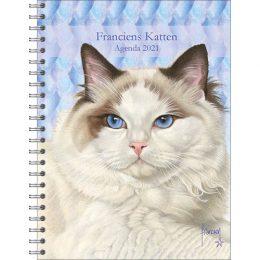 Franciens Katten bureau-agenda Ragdoll 2021