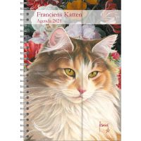 Franciens Cats Spiral Agenda (Luxe) TJE 2020