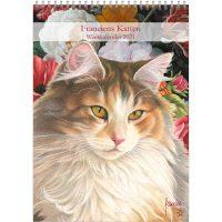 Franciens Cats Week Note Calendar Lane 2020