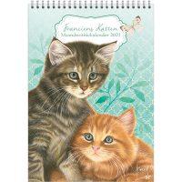 Franciens Cats Month Note Calendar KITTENS