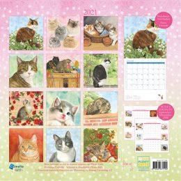 Franciens Katten kalender 2021