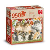 Franciens Katten puzzel CAT FAMILY