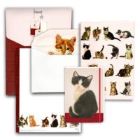 Franciens Katten set met briefpapier
