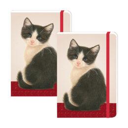 Franciens Katten 2 stuks A6 notitieboekjes